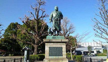 西鄉隆盛銅像