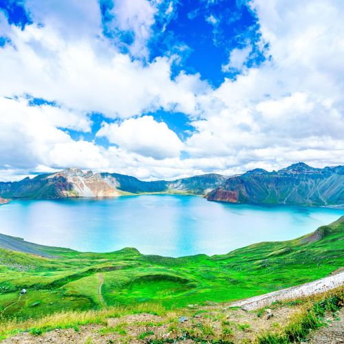 Heaven Lake on Changbai Mountain
