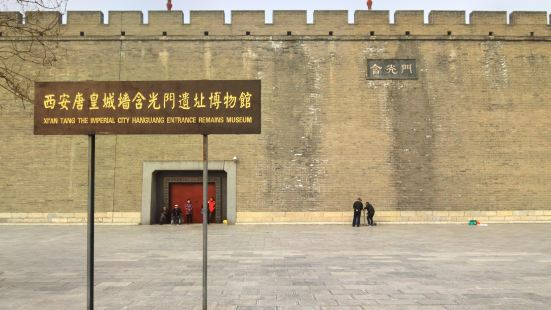 Hanguang Gate Relic Site Museum
