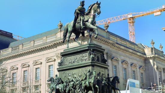 弗裡德裡希大帝騎馬雕像