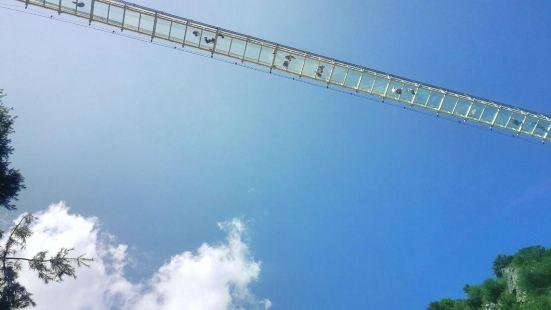 大墩峽玻璃天橋