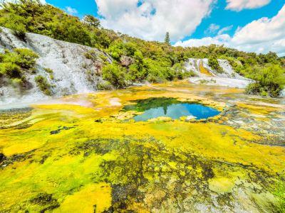 奧拉基考拉考洞穴與地熱公園