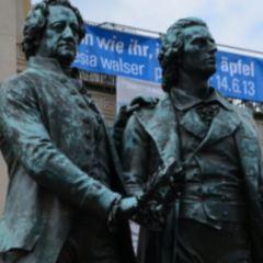 歌德和席勒塑像用戶圖片