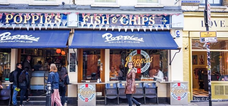Poppie's Fish and Chips Spitalfields3