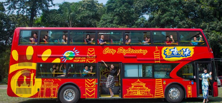 Guangzhou Twin City Sightseeing Bus3