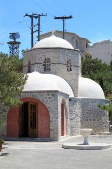 普诺菲提斯山修道院-圣托里尼-doris圈圈