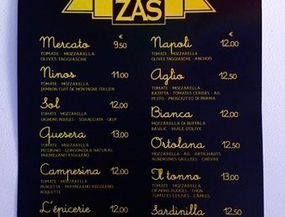 Pizzas De l'Epicerie