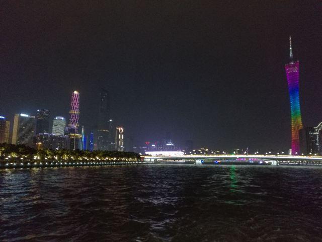 Pearl River Night Tour Haixin Shadong District Wharf