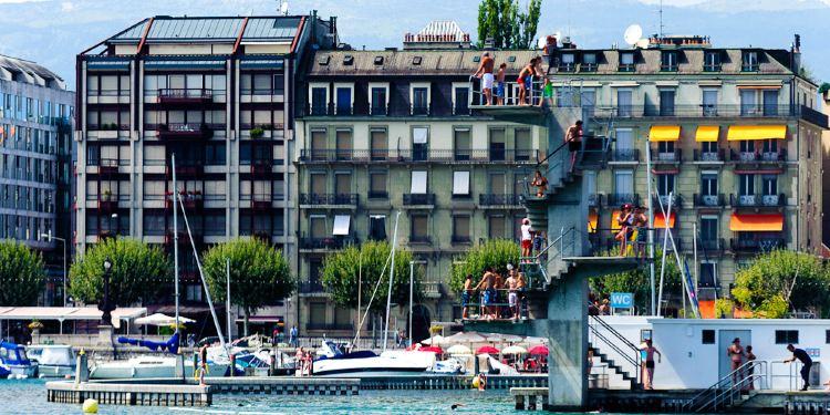 日内瓦湖图片