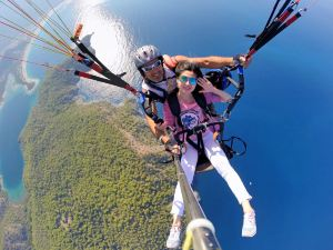 Pokhara,paragliding