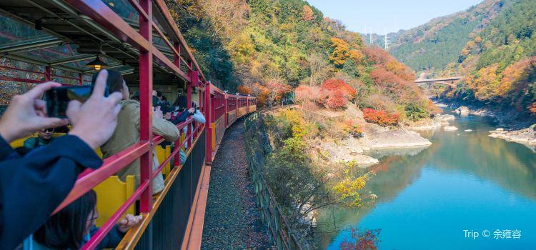 Sagano Romantic Train2