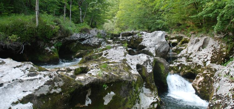 Slap Mostinca (Mostnica Waterfall)