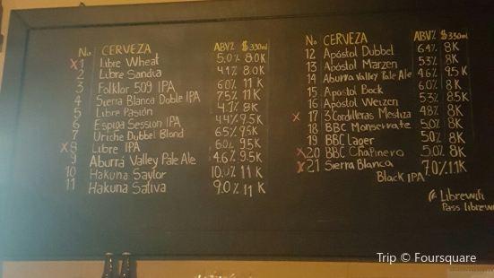 Cervecería Libre