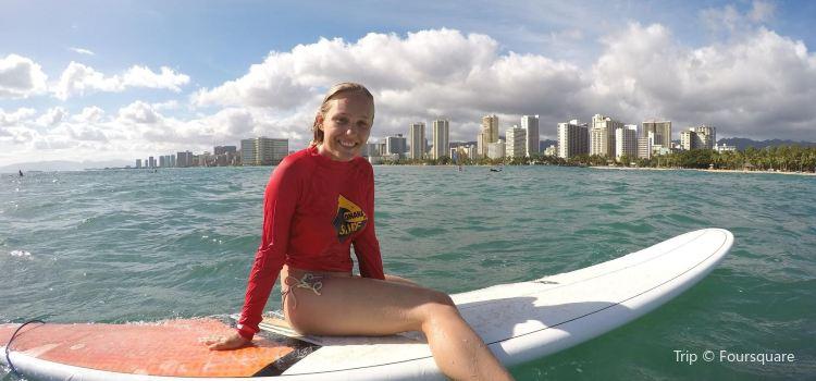 Ohana Surf Project歐胡島衝浪課程3