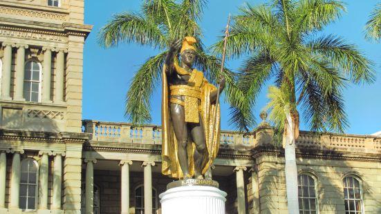 카메하메하 대왕 동상