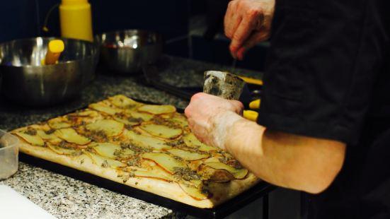 Pizz-art lAtelier della pizza à la coupe