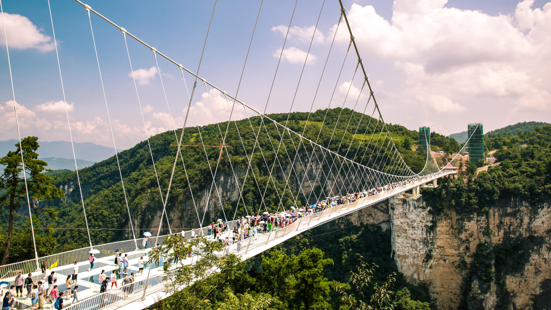 張家界大峡谷玻璃大橋