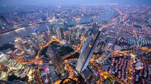 上海中心大廈上海之巔觀光廳