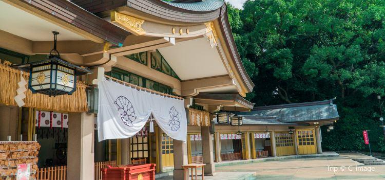 Fukuokaken Gokoku Shrine1