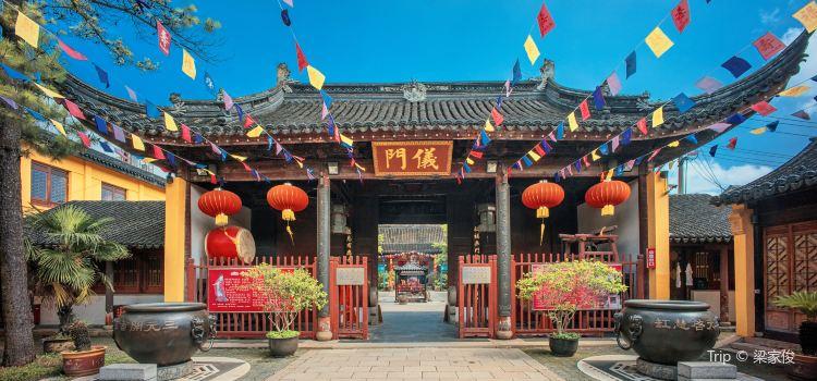 Suzhou City God Temple2