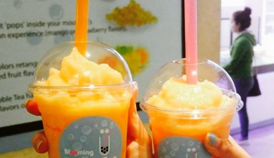 Blooming Bubble Tea