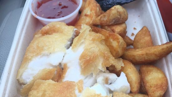Fish and Chips Vagninn
