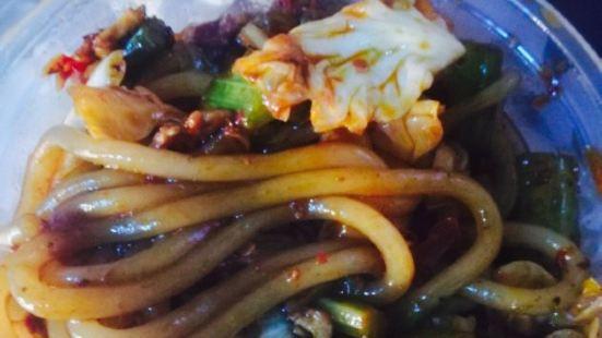 張掖臊面之野蘑菇炒米粉