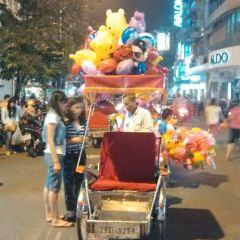 하노이 야시장 여행 사진
