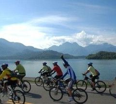 일월담 자전거 도로 여행 사진