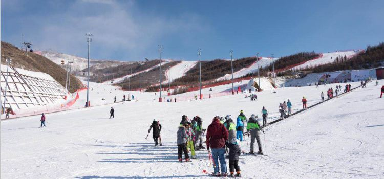 Mount Cuiyun Ski Resort1
