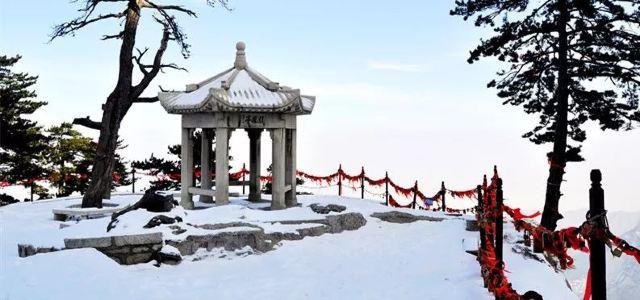 為什麼上帝要創造雪後的陝西,因為……