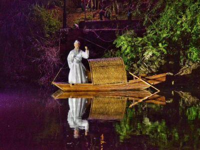 夜遊崇陽溪