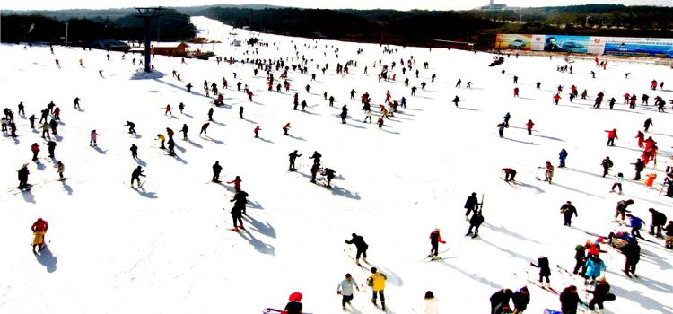瀋陽棋盤山滑雪場3
