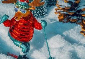 """出行丨新年第一滑!穿上你的滑雪裝備,做全村最靚的仔!來大明山""""放肆""""沖吧!"""