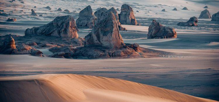 南湖沙漠2