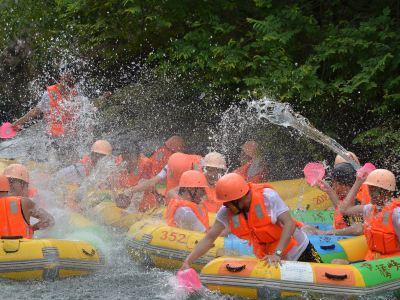 Huangteng Gorge Rafting
