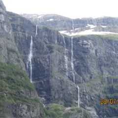 Kjelfossen Waterfall User Photo