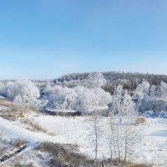 遜克大平臺霧凇風景區用戶圖片