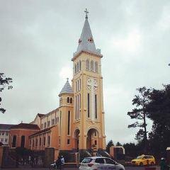 달랏 니콜라스바리 대성당 여행 사진