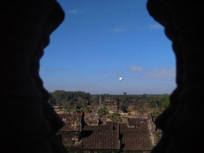 吳哥空中觀光氣球飛行體驗
