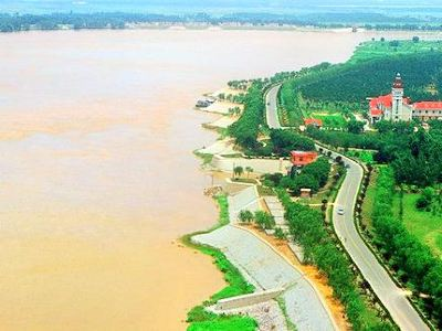 Yellow River Embankment Kaifeng Section