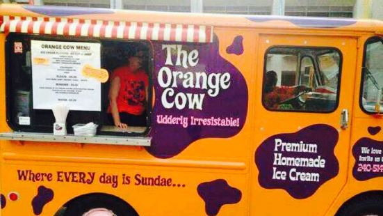 The Orange Cow
