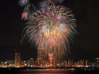 Sanuki Takamatsu Festival Fireworks