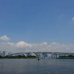 오다이바 해변공원 여행 사진