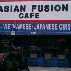 Asian Fusion Cafe User Photo