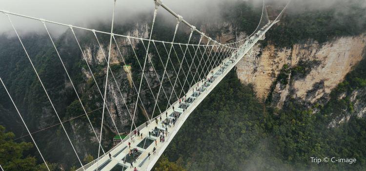 張家界大峡谷玻璃大橋3