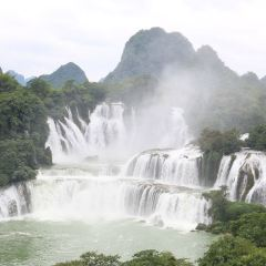 Detian Transnational Waterfall Scenic Area User Photo