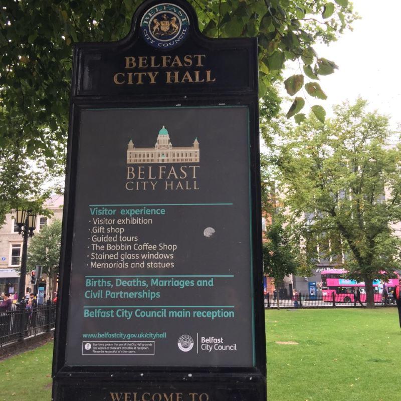 Belfast city playing fields