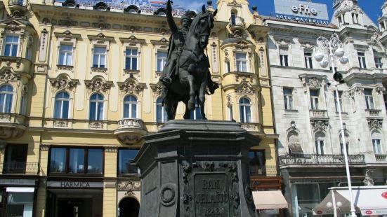Ban Josip Jelacic Monument