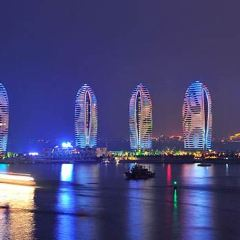 夜遊三亞灣用戶圖片